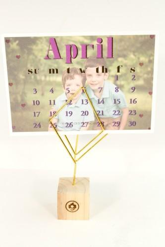 Calendar and Stand