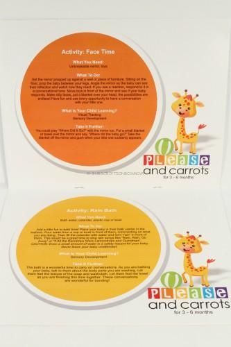 Milestone activities for kids