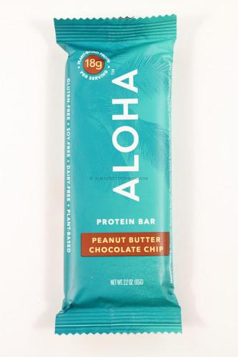 Aloha Protein Peanut Butter Chocolate Chip Bar