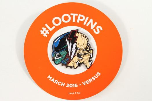 Exclusive March 2016 Loot Pin.
