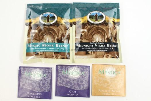 Mystic Monk Coffee and Tea