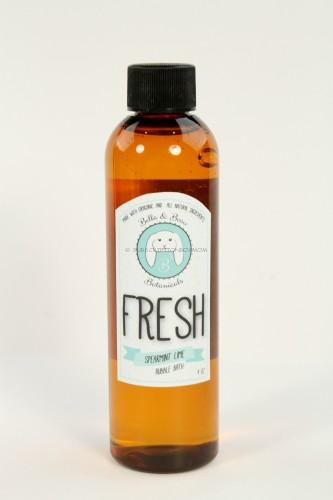 Bella & Beau Botanicals Bubble Bath in Fresh (Spearmint Lime)