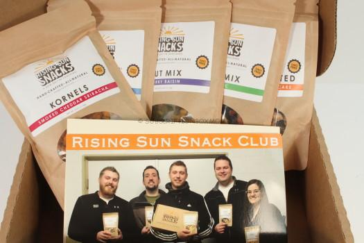 Rising Sun Snacks March 2016 Review