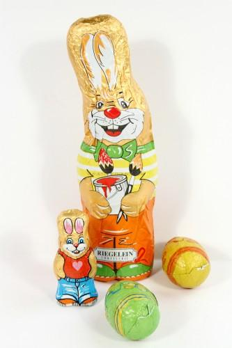 Easter German chocolate bunny