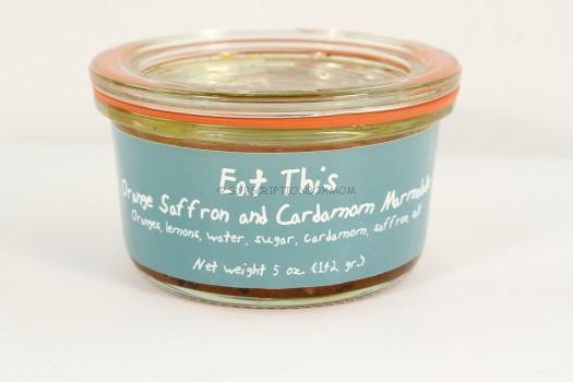 Award-winning Orange Saffron Cardamom Marmalade by Eat This