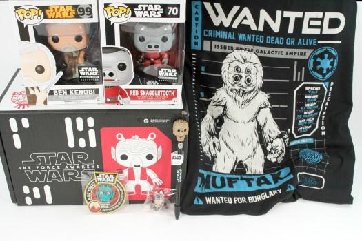 Smugglers Bounty March 2016 Star Wars Review
