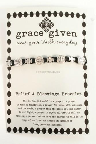 Belief & Blessings Bracelet from Grace Given Jewelry