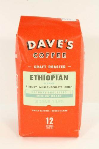 Dave's Coffee Ethiopian Sidamo Coffee