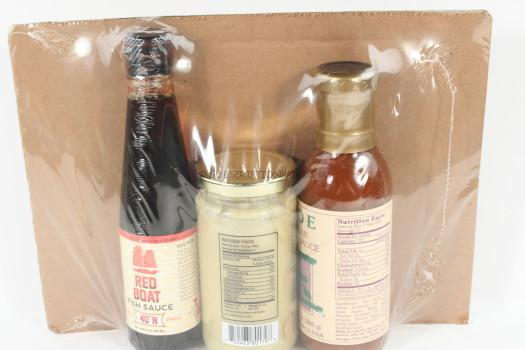 sauce packaging - hamptons lane