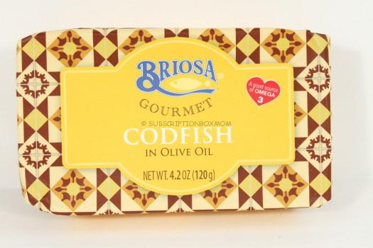 Briosa Gourmet Codfish in Olive Oil