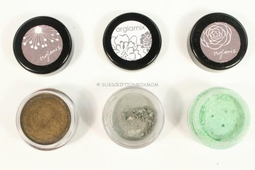 Eye Shadows and Liner