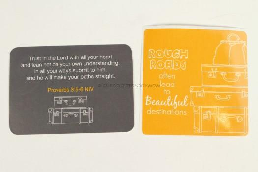 scripture and sticker