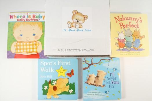 Lil' Bear Book Club March 2016 Subscription Box Review