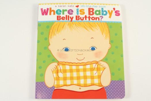 Where Is Baby's Belly Button? A Lift-the-Flap Book Karen Katz