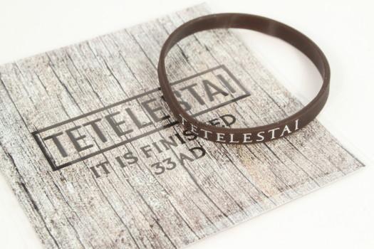 "Tetelestai 33 AD ""Message Bracelet"""