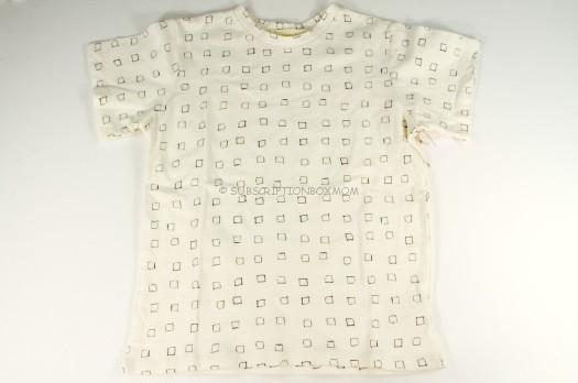 Go Gently Baby Square Print Tee