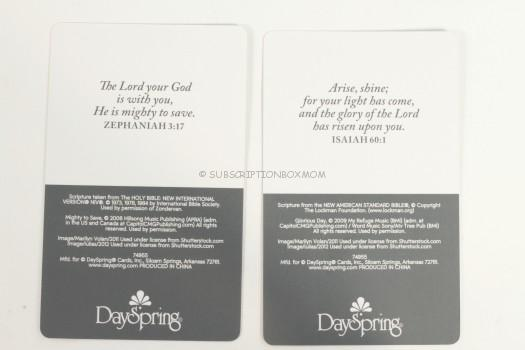 scripture cards