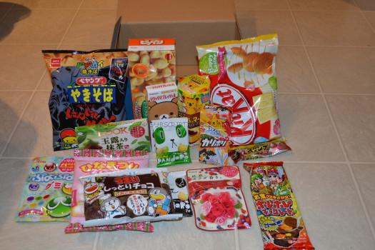 Okashi Connection Sumo Box March 2016 Review