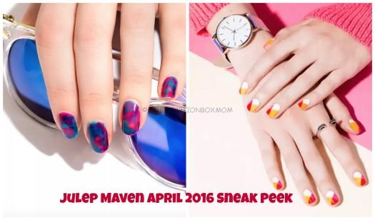 Julep Maven April 2016 Collection Reveal