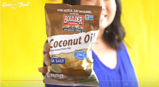 Boulder Canyon Coconut Oil Potato Chips in Sea Salt