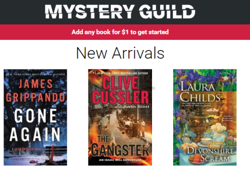 NEW Mystery Guild Book Club