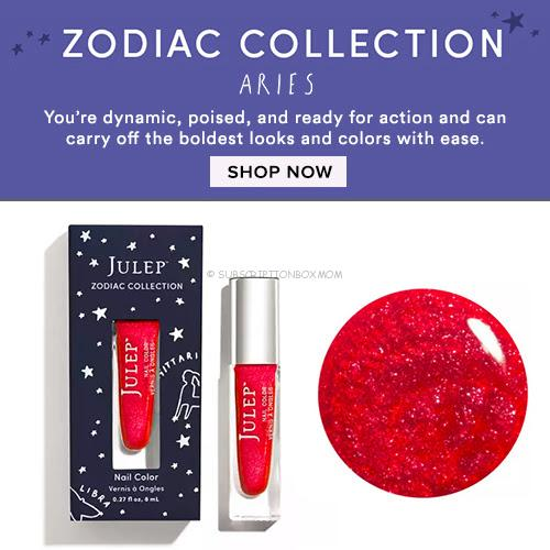 Aries Zodiac Polish + 20% off Coupon Code