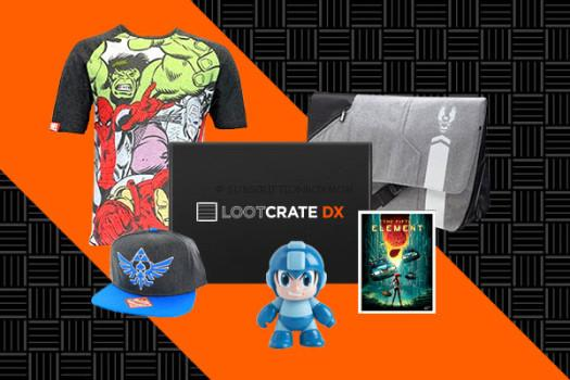 New Loot Crate Subscription, Loot Crate DX