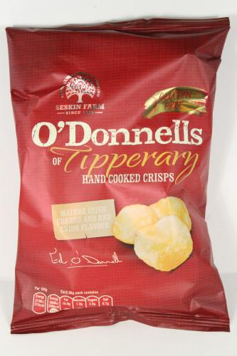 O'Donnell's Mature Cheese and Onion Crisps