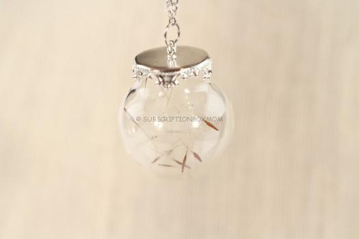 Spring Dandelion Necklace