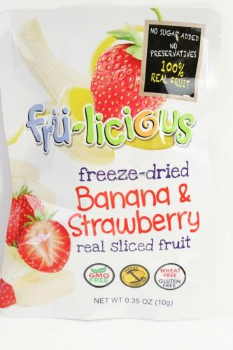 Fru-Licious Freeze Dried Fruit - Banana/Strawberry