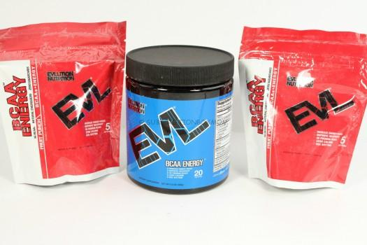 BCAA ENERGY Blue Raz & Fruit Punch