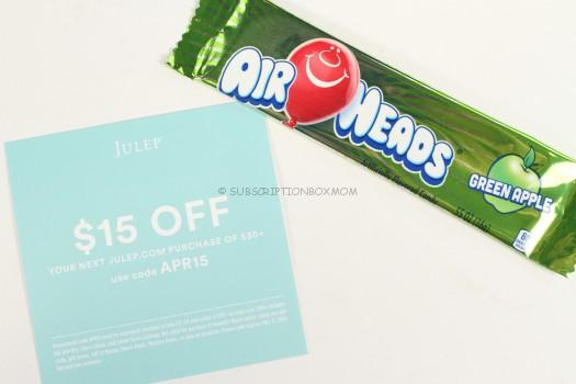 Julep coupon