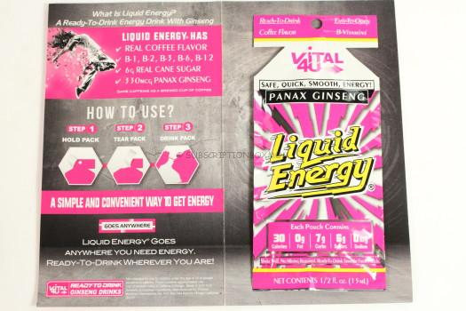 Vital4U Liquid Energy Ginseng Drink