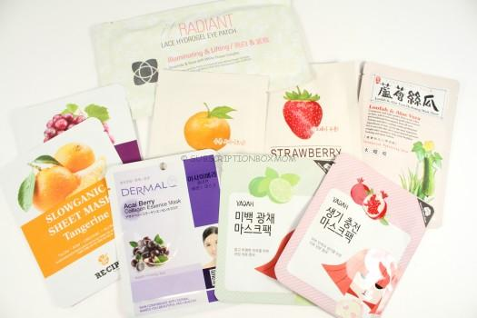 Beauteque Monthly Mask Maven April 2016 Review