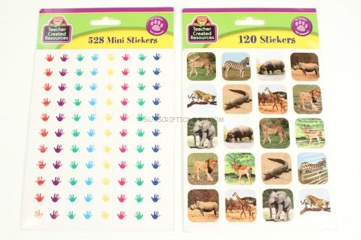 Safari Animals + Helping Hands Stickers