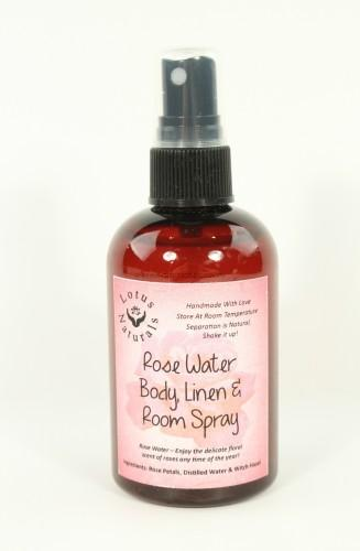 Rose Water Spray by Lotus Naturals