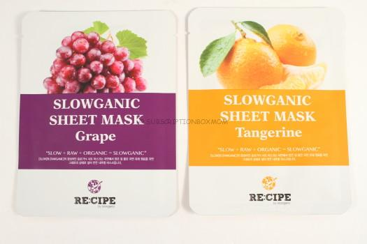 Recipe Slowganic Sheet Mask