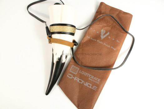 Exclusive Vikings Drinking Horn With Strap