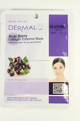 Dermal Acai Berry Collagen Essence Mask