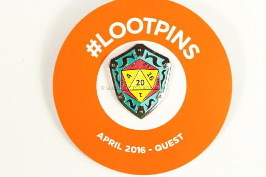 The Exclusive Loot Pin