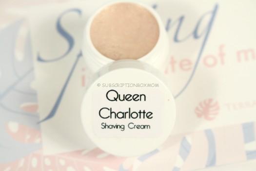 Queen Charlotte Soaps Handmade Shaving Cream Sample in Queen Charlotte