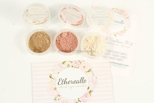 Etherealle Mineral Contour, Highlight and Blush Sample Set