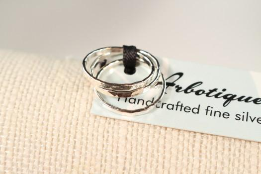 Arbotique Designs Sterling Silver Midi Rings