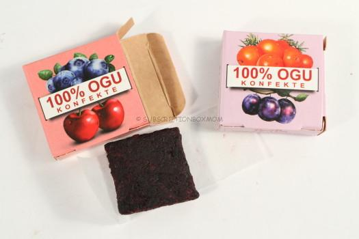 Sea Buckthorn/Plum Berry and Blueberry/Cherry Berry Candy