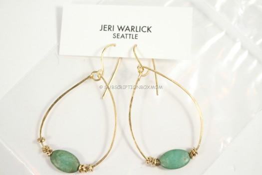 Jeri Warlick Design Gypsy Teardrop Earrings