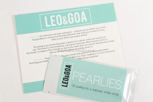 Pearlies by Leo & Goa