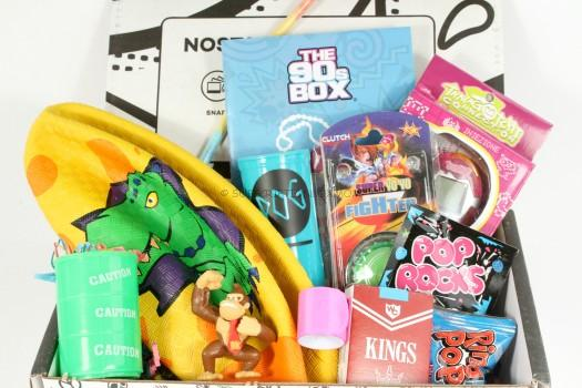 The 90's Box March 2016 Subscription Box Review