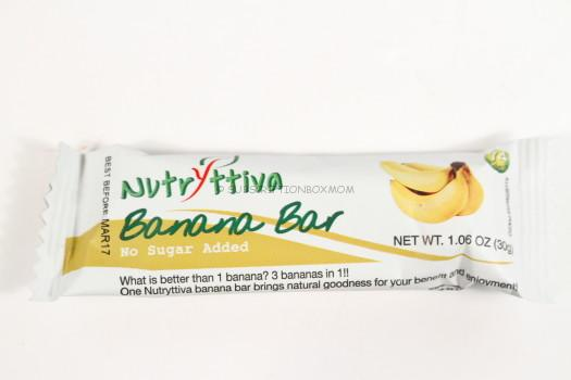Banana Bar by Nutryttiva