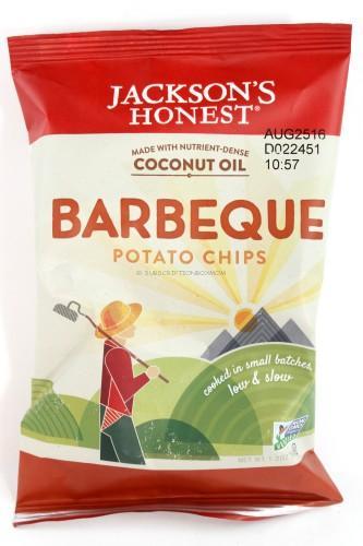 Jackson's Honest Barbeque Potato Chips