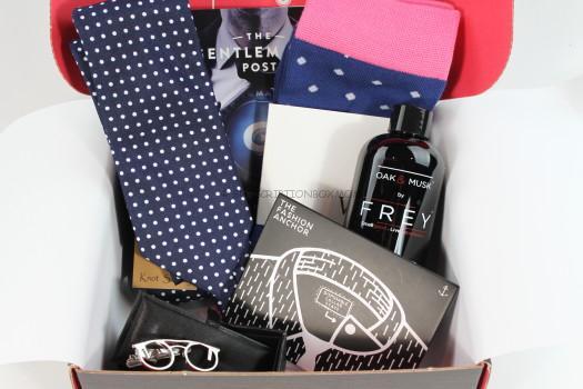 Gentleman's Box April 2016 Review